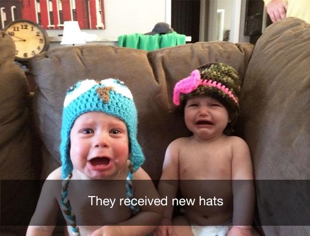 Они получили новые шапочки