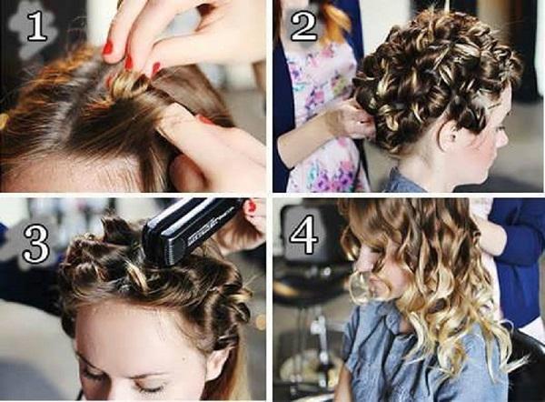 Волосы можно не только выравнивать утюжком, но и накручивать им красивые локоны2