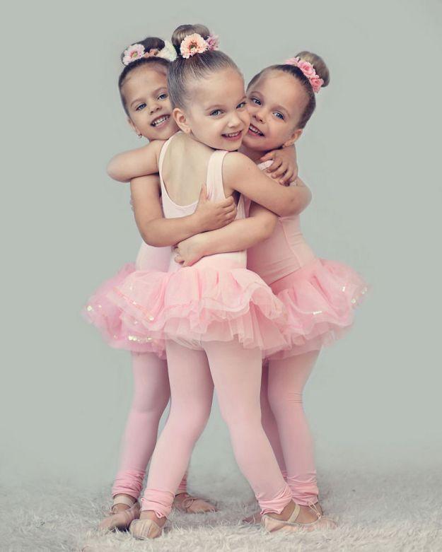 фотографии тройняшек
