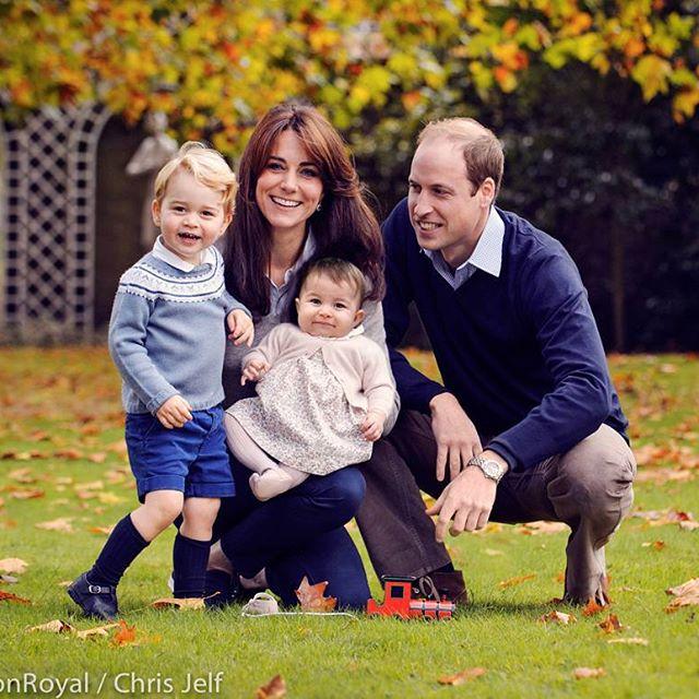 семья принца джорджа и кейт