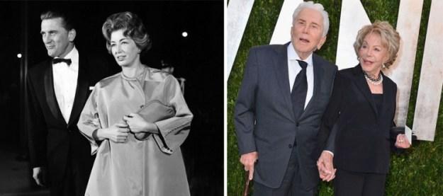 Кирк Дуглас и Энн Байденс, 62 года вместе