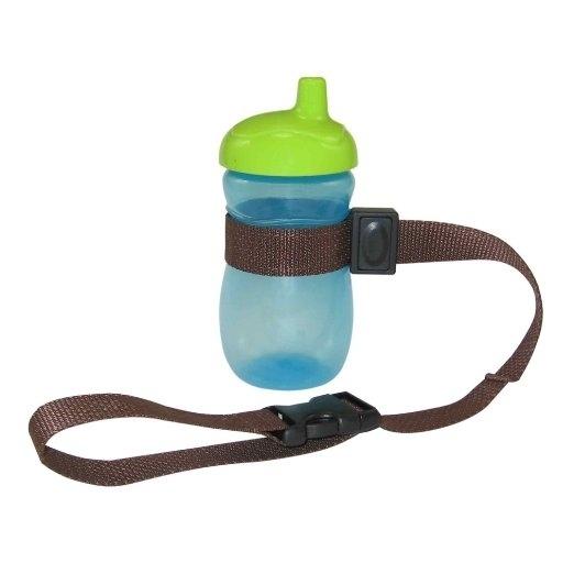 Ремешок для бутылочки. Чтобы ребенок не потерял ее на прогулке