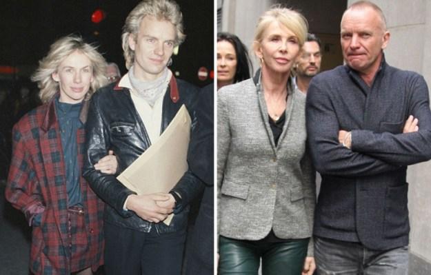 Стинг и Труди Стайлер, 34 года вместе