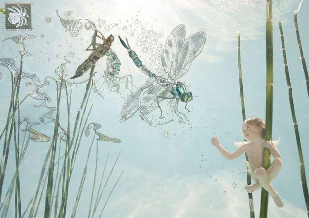 дети в воде