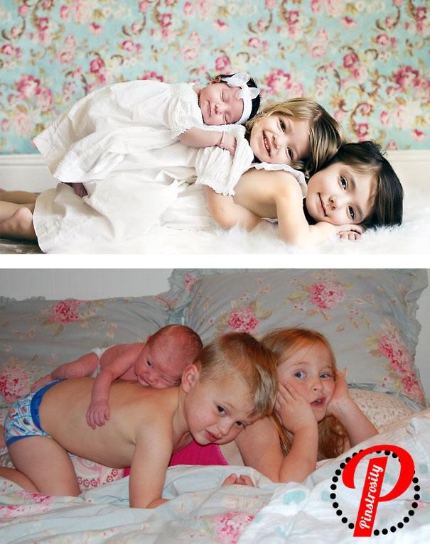неудачная фотосессия детей