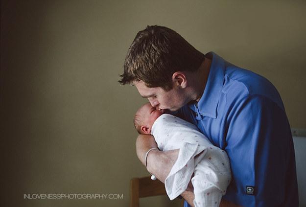 трогательные фотографии пап и детей