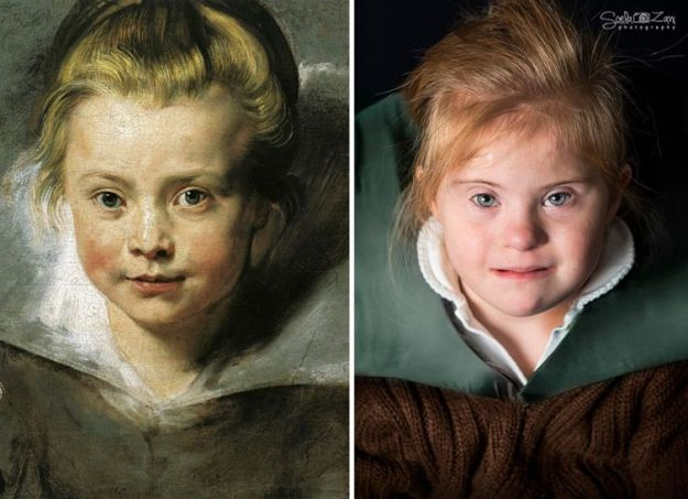 Портрет дочери Клары Серены Рубенс, Питер Рубенс