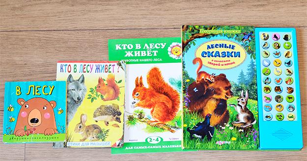 Изучаем лесных животных. Мой разнообразный минимум книг ~ Я happy МАМА a3f05f76418