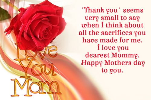 Happy Mothers Day Messages 2018