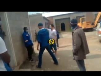 Chinese Employer Filmed Beating