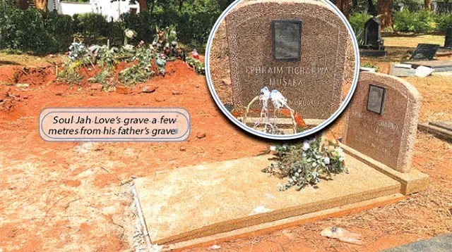 Soul Jah Love Buried Next To His Father Who Was Also A Liberation War Veteran