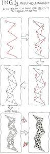 Уроки рисования Zentangle