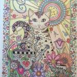 Антистресс раскраски для взрослых кошки