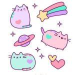 Кавайные картинки для срисовки милые котики