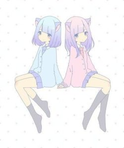 картинки аниме девочек для срисовки