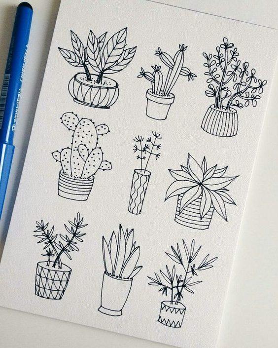 Рисунки карандашом легкие для срисовки для начинающих
