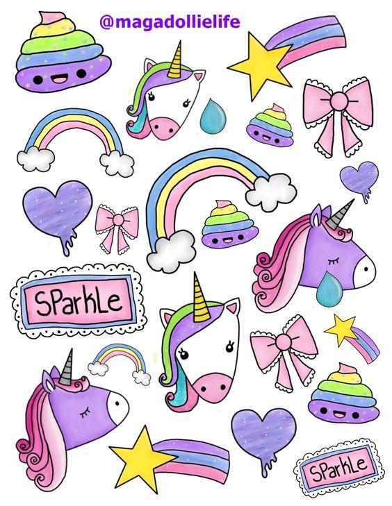 Легкие рисунки для девочек 7 лет