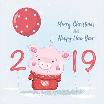 Новогодние рисунки 2019