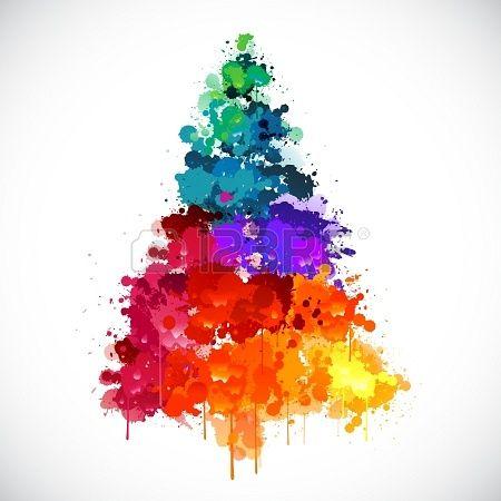 Красивые новогодние картинки для срисовки