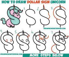 Как нарисовать единорога легко и просто поэтапно