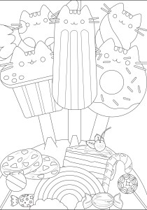 Doodle Art / Doodling - Coloring Pages for Adults3