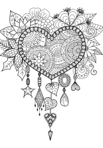 Dreamcatchers - Coloring Pages for Adults5