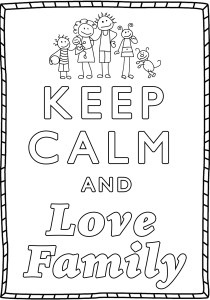 Keep calm and … - Coloring Pages for Adults15