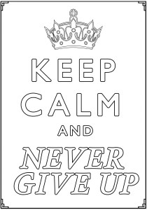 Keep calm and … - Coloring Pages for Adults17