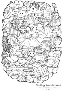 Return to childhood - Coloring Pages for Adults1