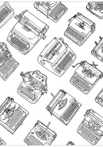 Vintage - Coloring Pages for Adults2