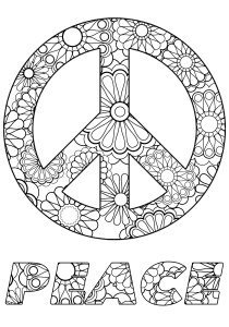 Zen and Anti stress - Coloring Pages for Adults4