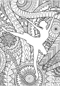 Zen and Anti stress - Coloring Pages for Adults7