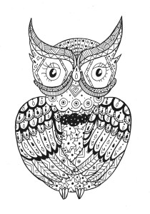 Zentangle - Coloring Pages for Adults16