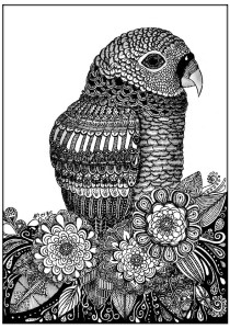 Zentangle - Coloring Pages for Adults19