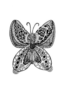 Zentangle - Coloring Pages for Adults15