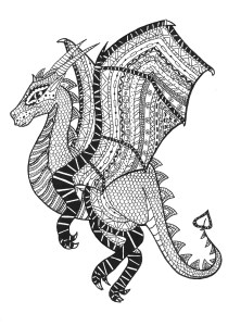 Zentangle - Coloring Pages for Adults10