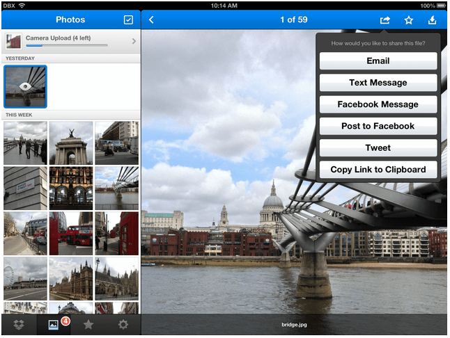 Dropbox App Gets Support for Viewing All Your Photos