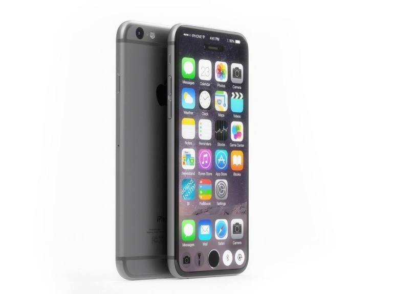 iPhone 7 Concept Features Top to Bottom, Edge to Edge Display