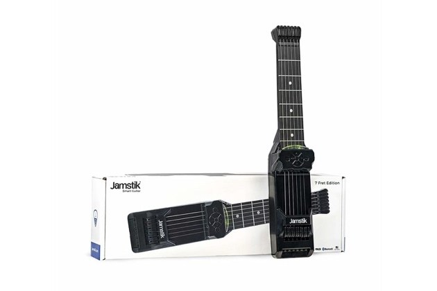 Jamstik 7 FretTouch Finger Detection Technology MIDI Smart Guitar (Distressed Box) for $279