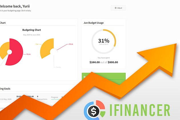 iFinancer Income & Expense Tracker for $19