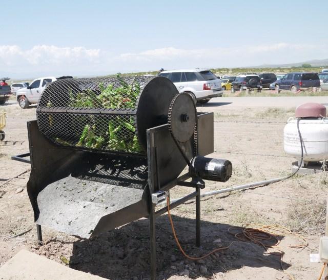 hatch chile roasting festival
