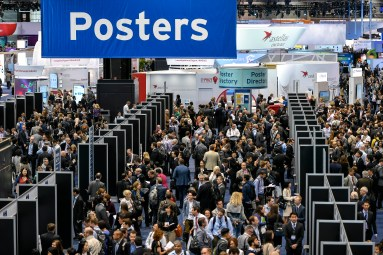 Chicago, IL - 2017 ASCO Annual Meeting - Attendees and poster presenters during Posters Sessions at the American Society of Clinical Oncology (ASCO) Annual Meeting here today, Saturday June 3, 2017. Over 40,000 physicians, researchers, and healthcare professionals from over 100 countries are attending the 53rd Annual Meeting, which is being held at McCormick Place. The ASCO Annual Meeting highlights the latest findings in all major areas of oncology, from basic to clinical and epidemiological studies. Photo by © ASCO/David Eulitt 2017 Technical Questions: todd@medmeetingimages.com; ASCO Contact: photos@asco.org
