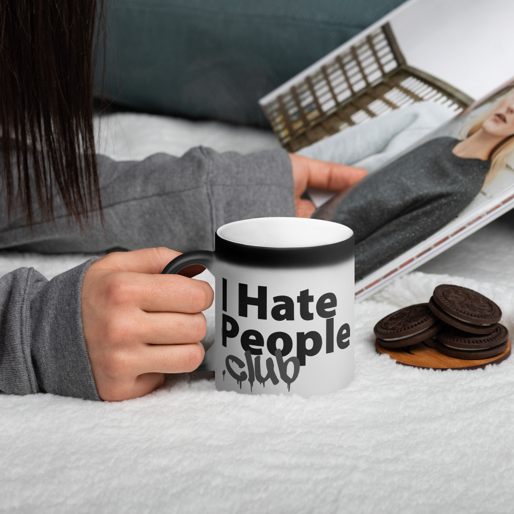 I Hate People Logo Coffee Mug