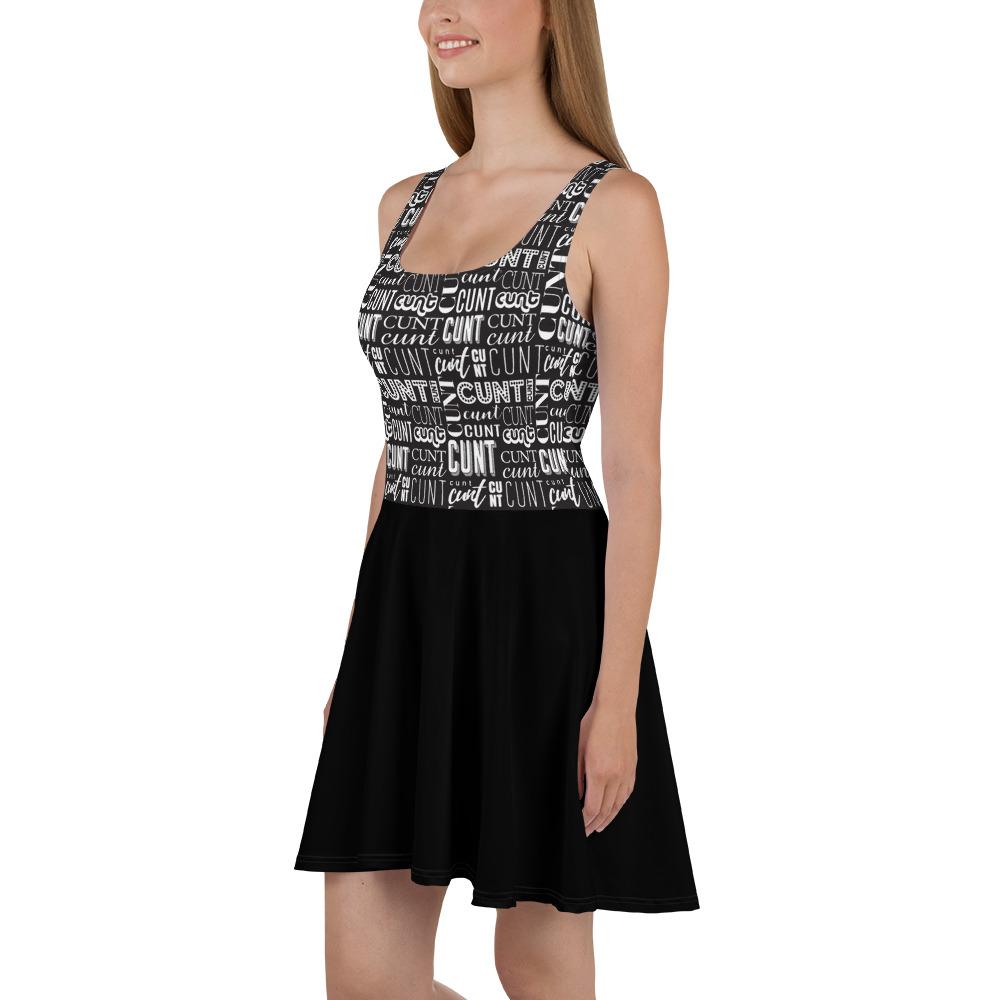 Cunt Word Web Dress