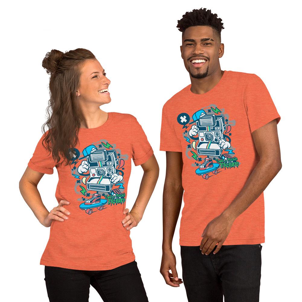 Take a Fucking Picture Polaroid Tshirt