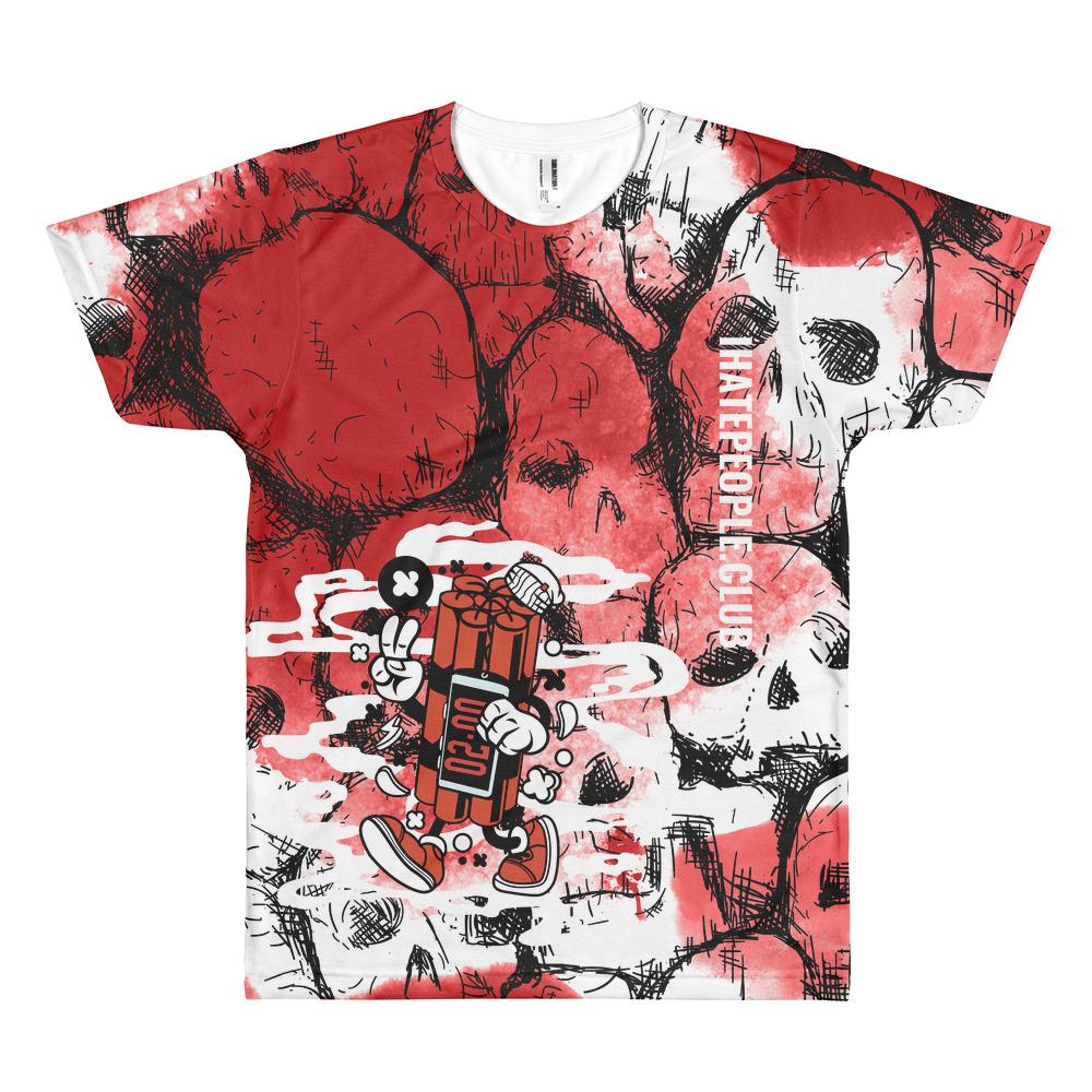 Dynamite Skull T-Shirt