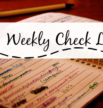 Setting Weekly Goals for an Easier Life
