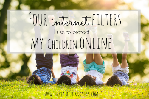 Summer is coming soon and that means more time on the computer for most kids. Internet safety is important to protect your baby boy and baby girl. I share my top four internet filters to protect you children online.