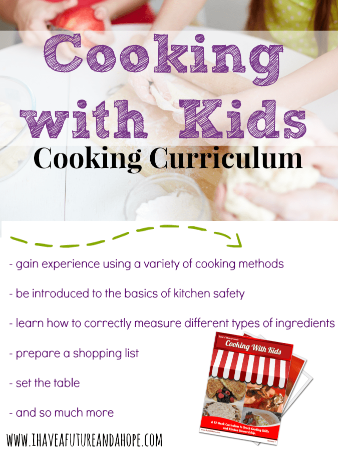 Cooking Curriculum : 31 Days of Homeschool Supplies