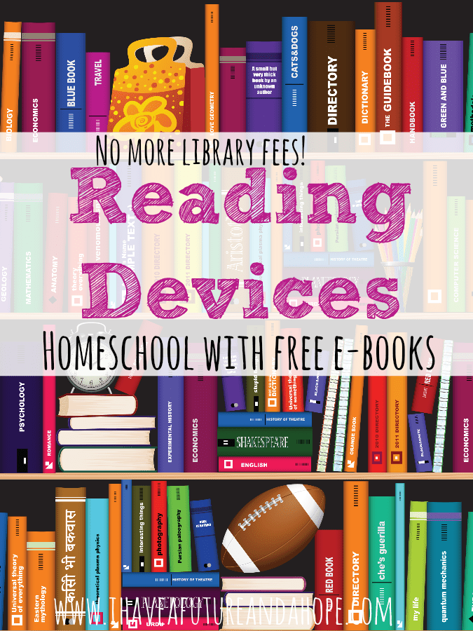 31 Days of Homeschool Supplies: Reading Devices